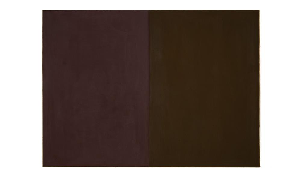 Erz und Erde, 2015, Pigmente auf Lwd, 130x180 | minerale e terra, pigmenti su tela, 130x180