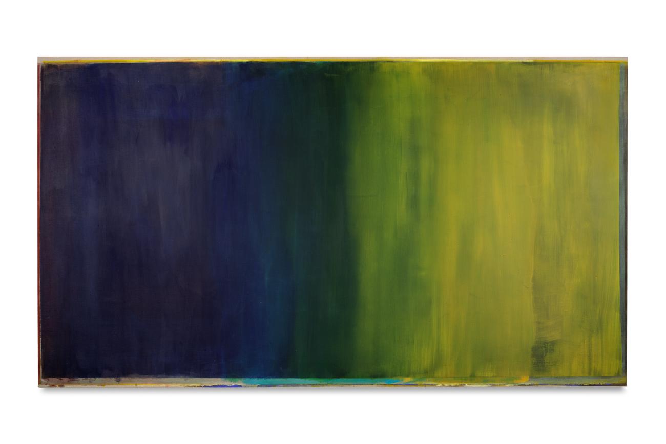 blau gelb, 2016, 140x250 | blu giallo, 2016, 140x250