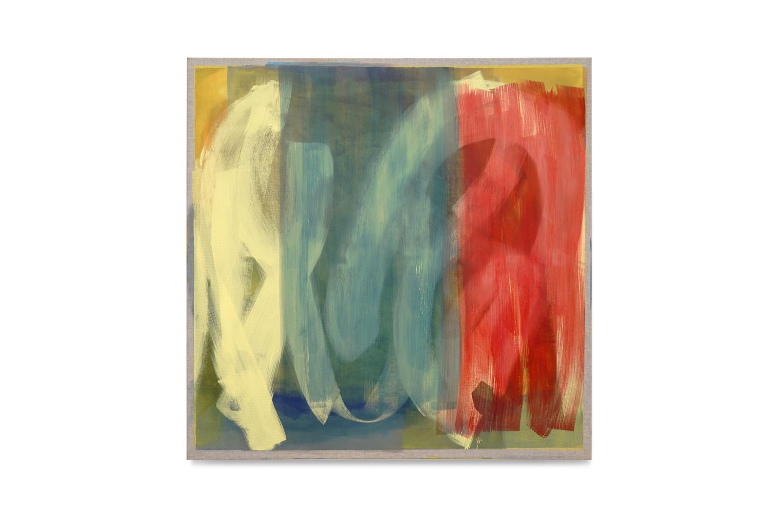 gelb blau rot, 2020, 140x140 | giallo blu rosso, 140x140